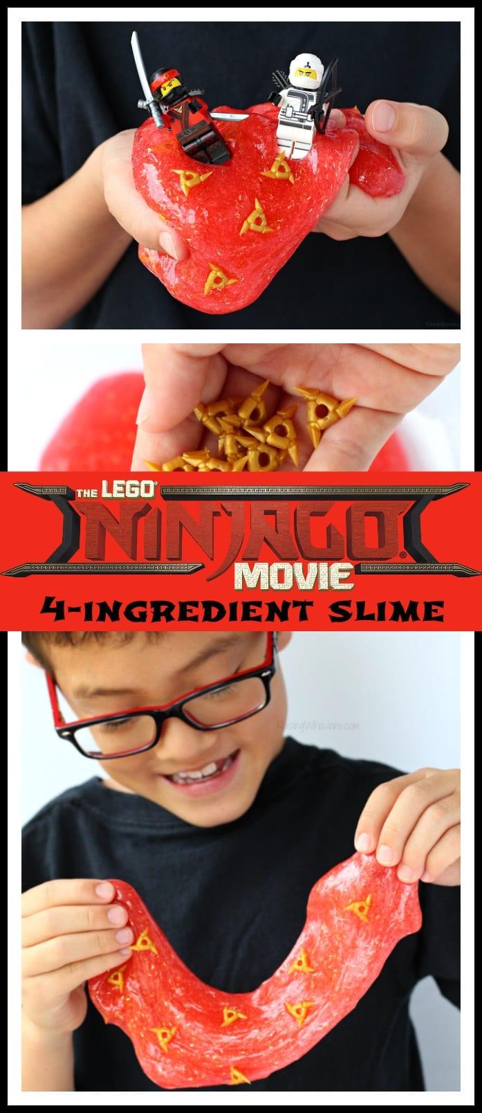 Lego ninjago movie slime