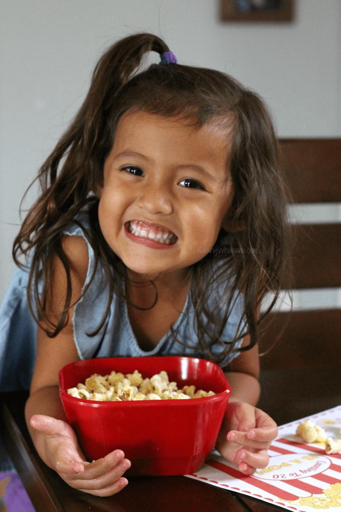 Preschool popcorn activity