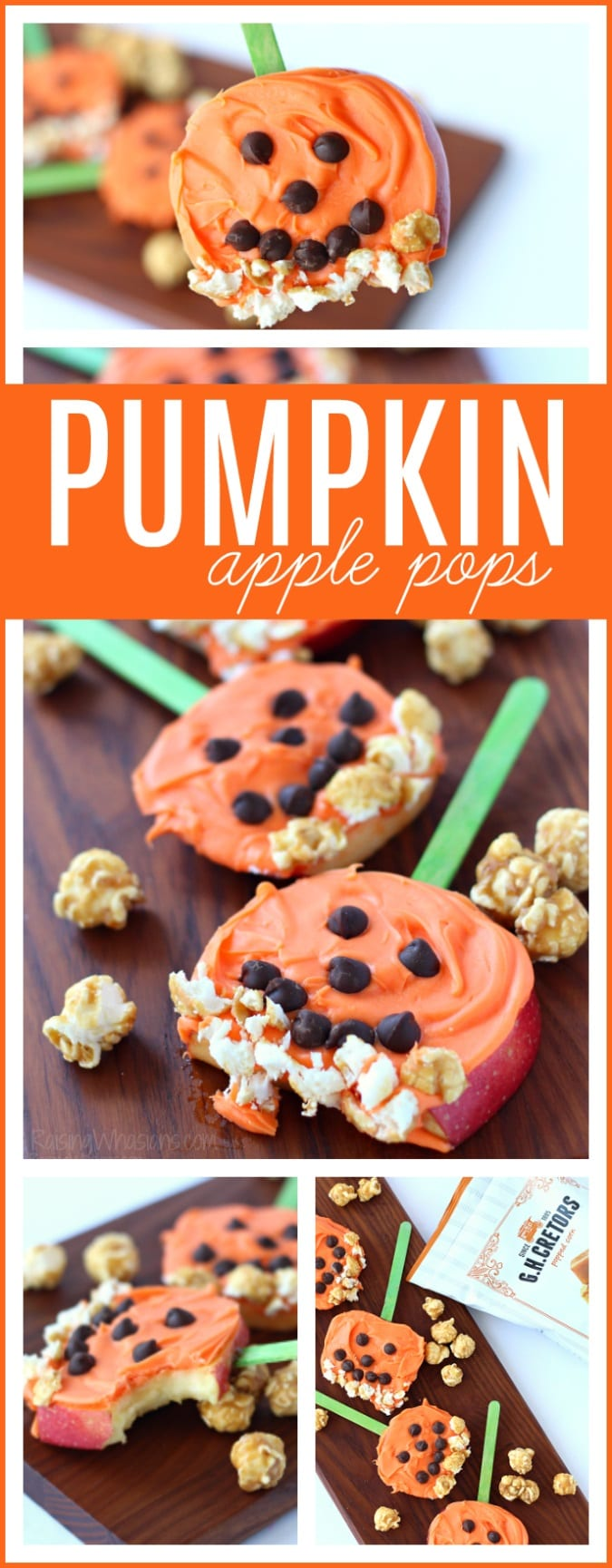 Pumpkin apple pops pinterest