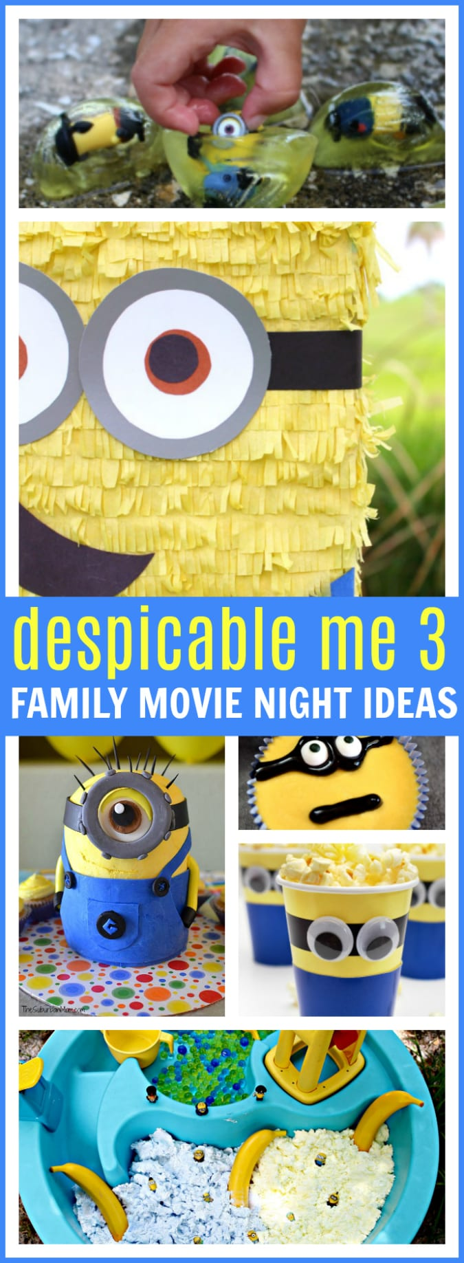 Despicable me 3 family movie night ideas