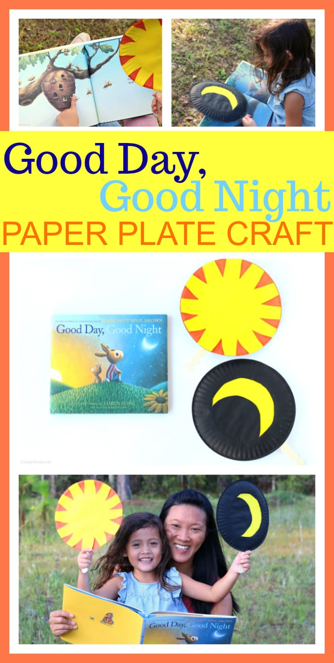 Good day good night craft pinterest