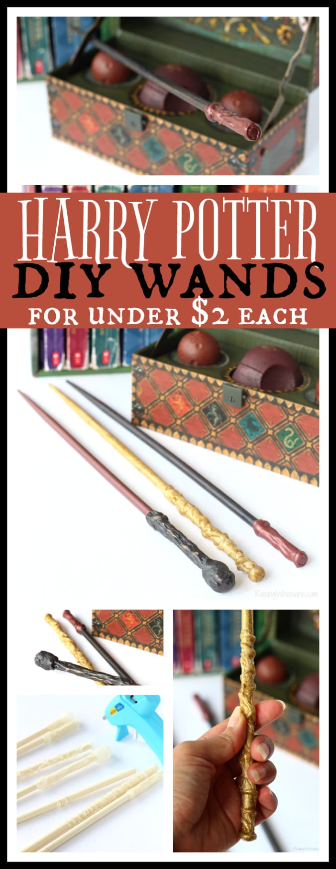 Harry potter diy wands pinterest