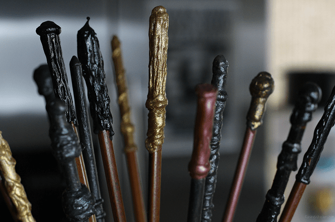 Harry potter wands party favor