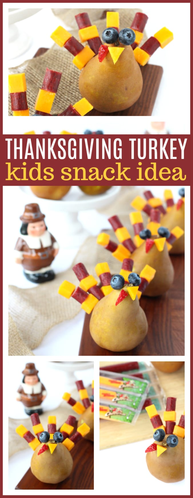 Thanksgiving kids snack idea pinterest