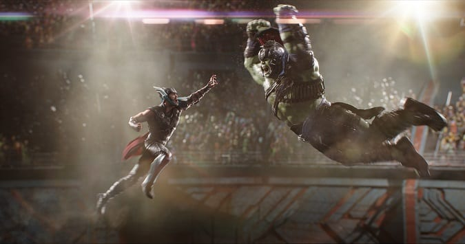 Thor Ragnarok ok for kids