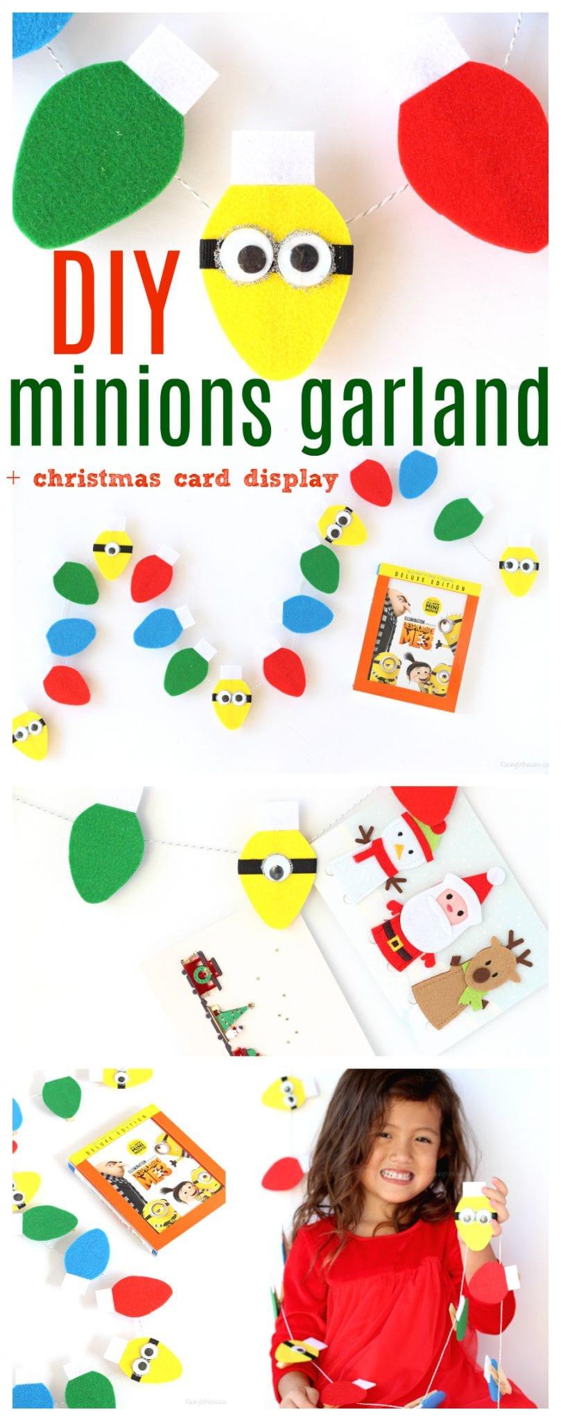 DIY minions garland pinterest