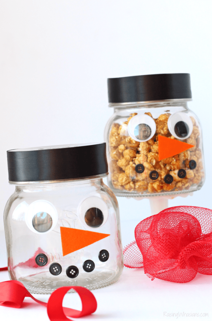 Easy DIY holiday gift jar