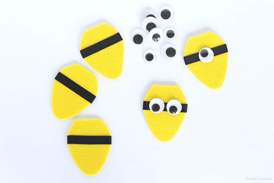 Minions Christmas craft
