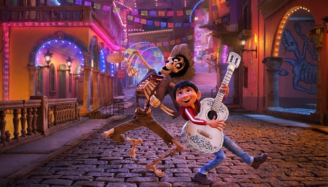 Pixar coco movie review safe for kids