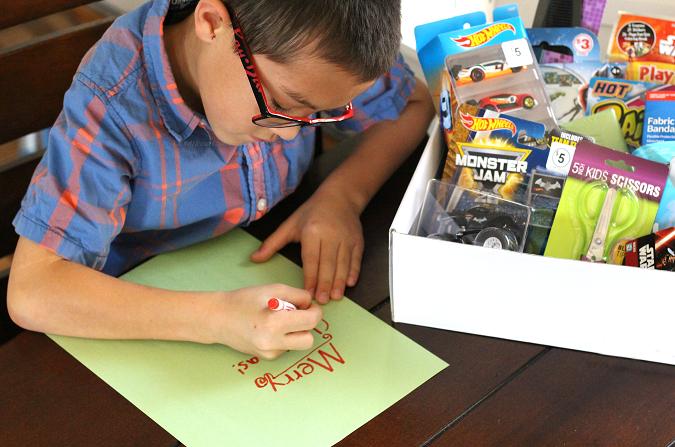 Teaching kids giving