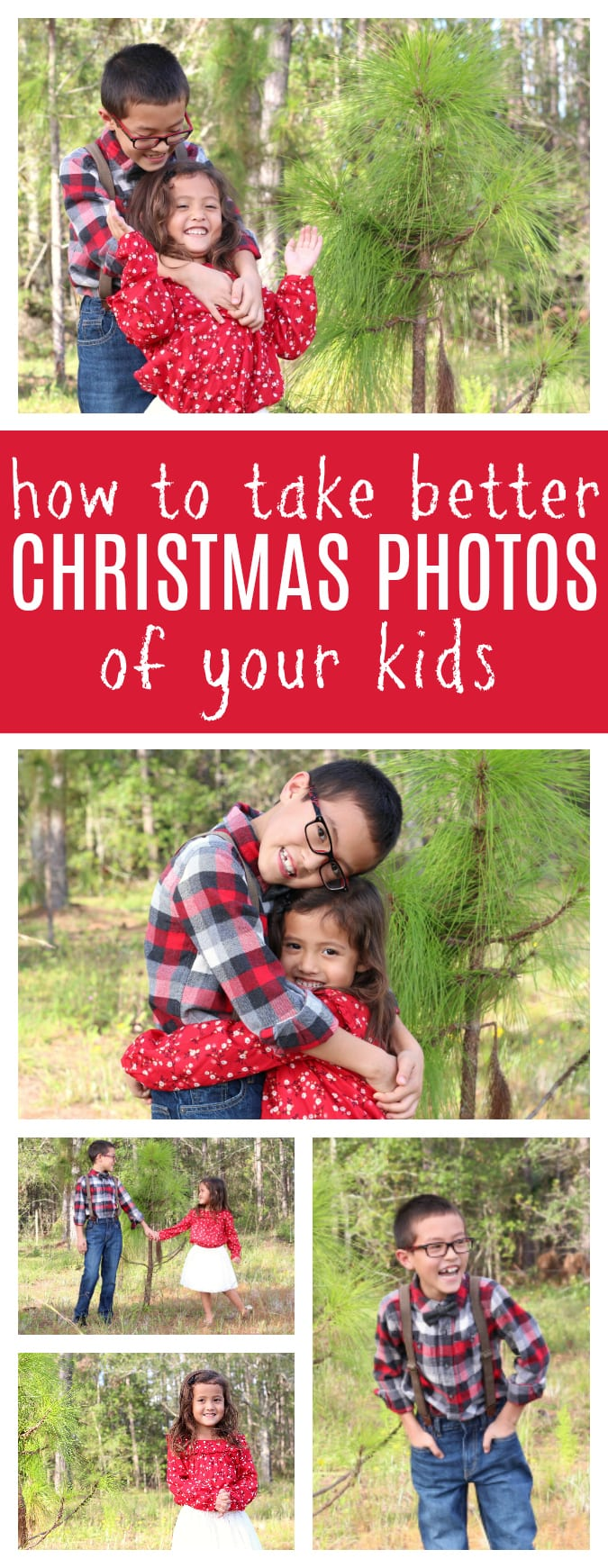 Tips to take better Christmas photos of your kids