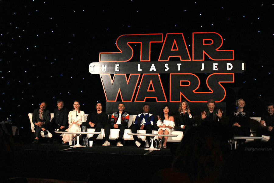 Best from the star wars the last jedi press event