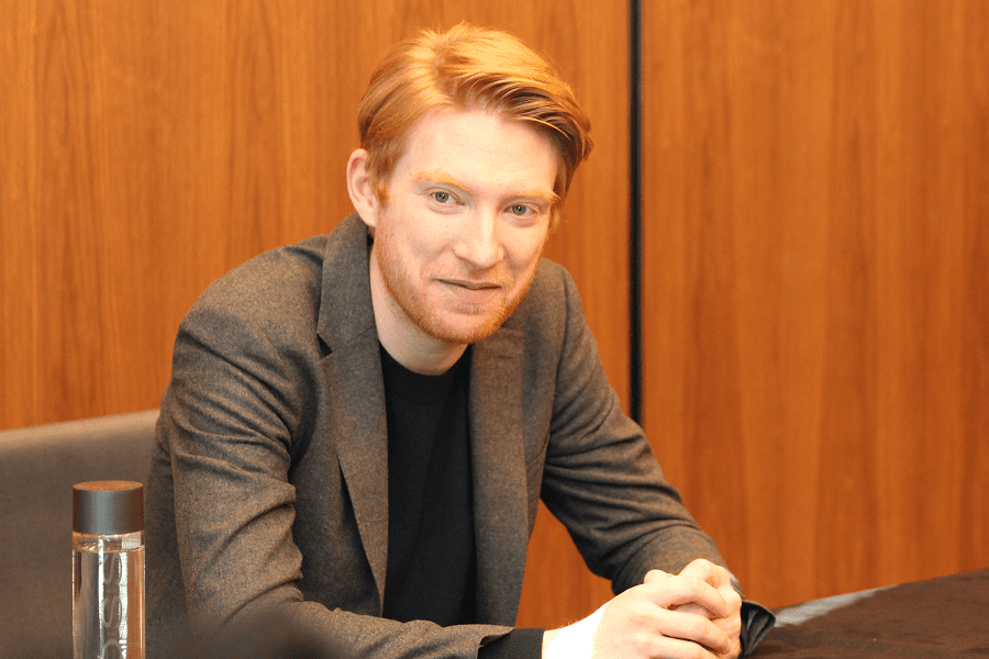 Domhnall Gleeson interview star wars the last jedi