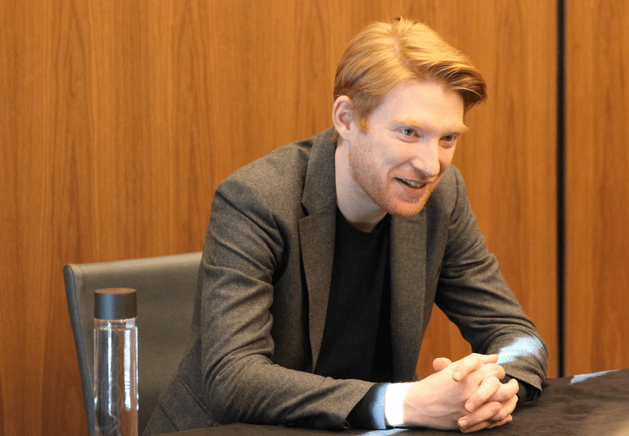 Domhnall Gleeson interview the last jedi