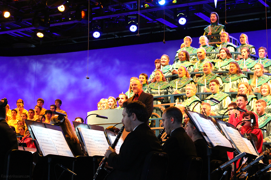 Festival of the holidays candlelight processional