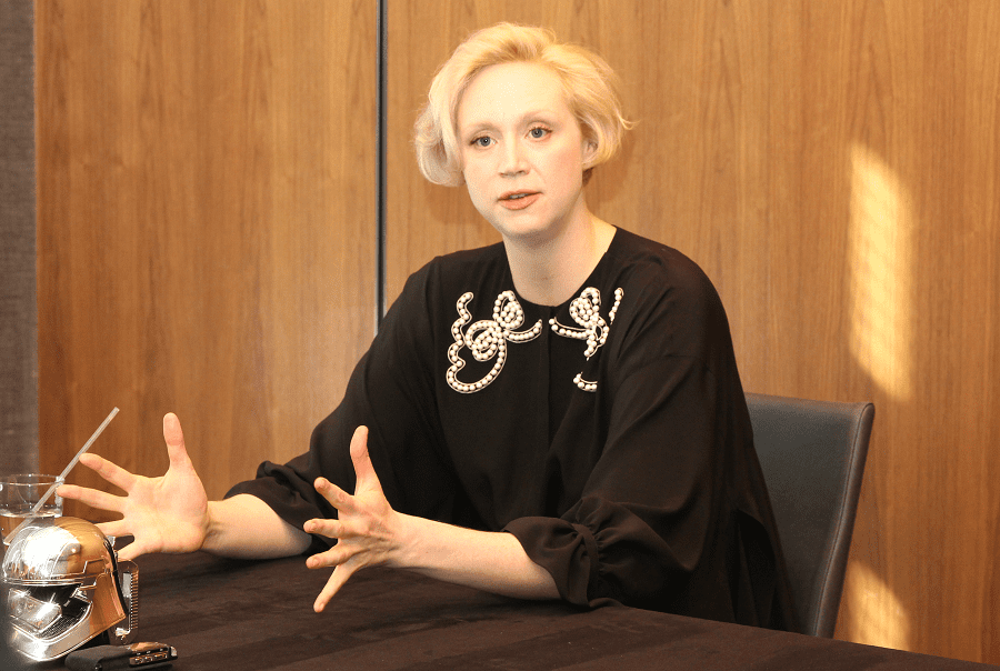 Gwendoline Christie star wars interview
