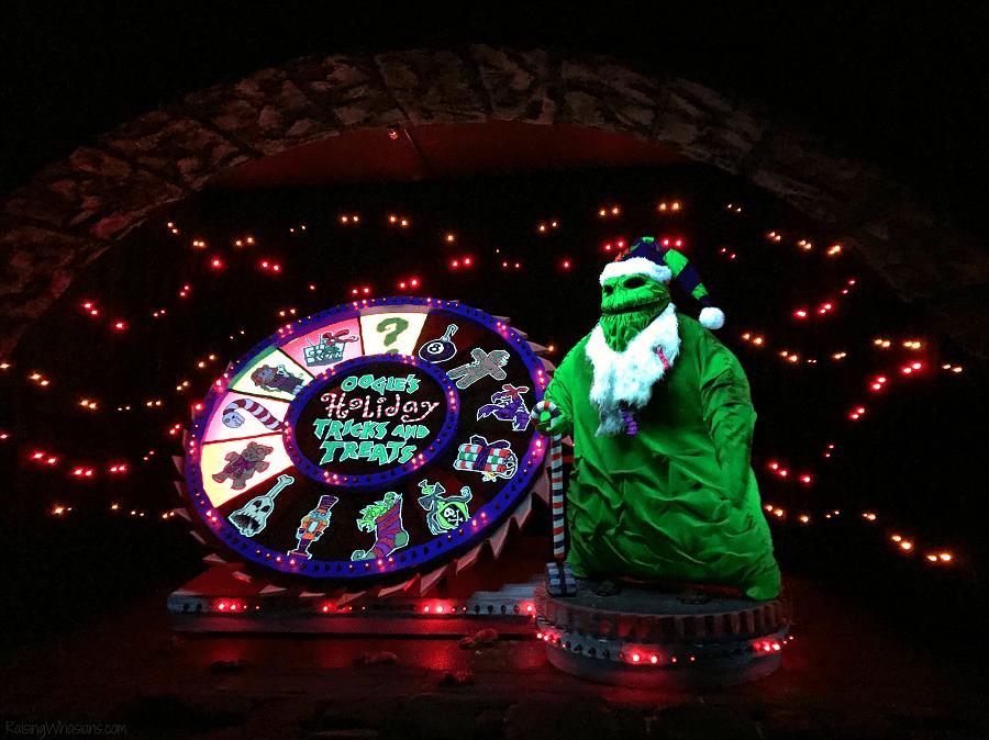 Haunted mansion Disneyland holidays