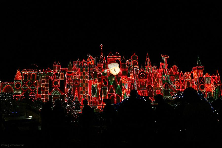 It's a small world Disneyland holidays