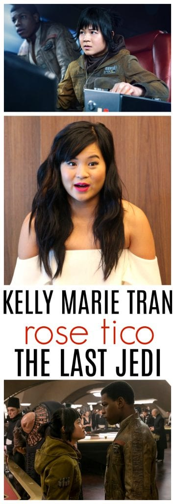 Kelly Marie Tran interview star wars the last jedi