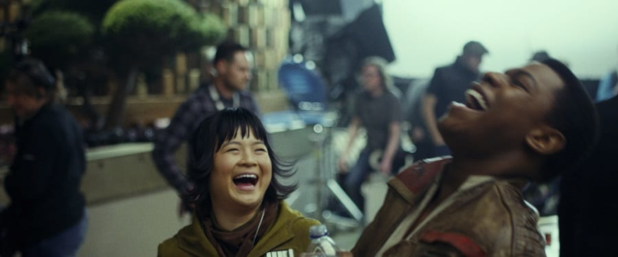 Kelly Marie Tran star wars Asian female hero