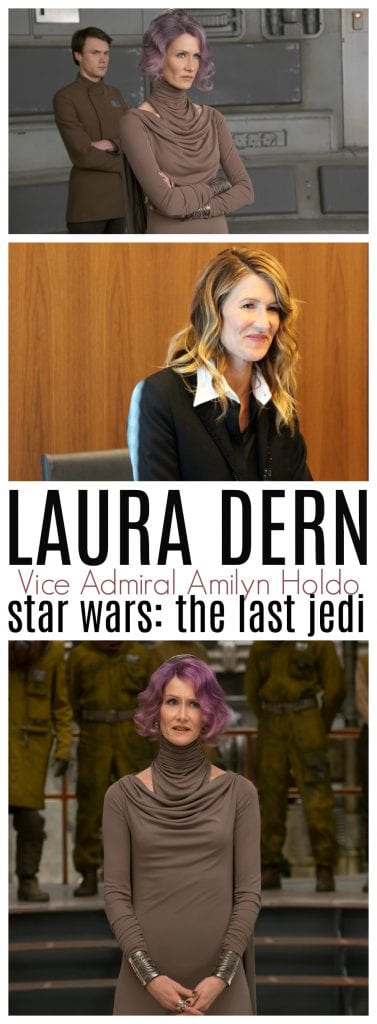 Laura Dern Holdo interview the last jedi