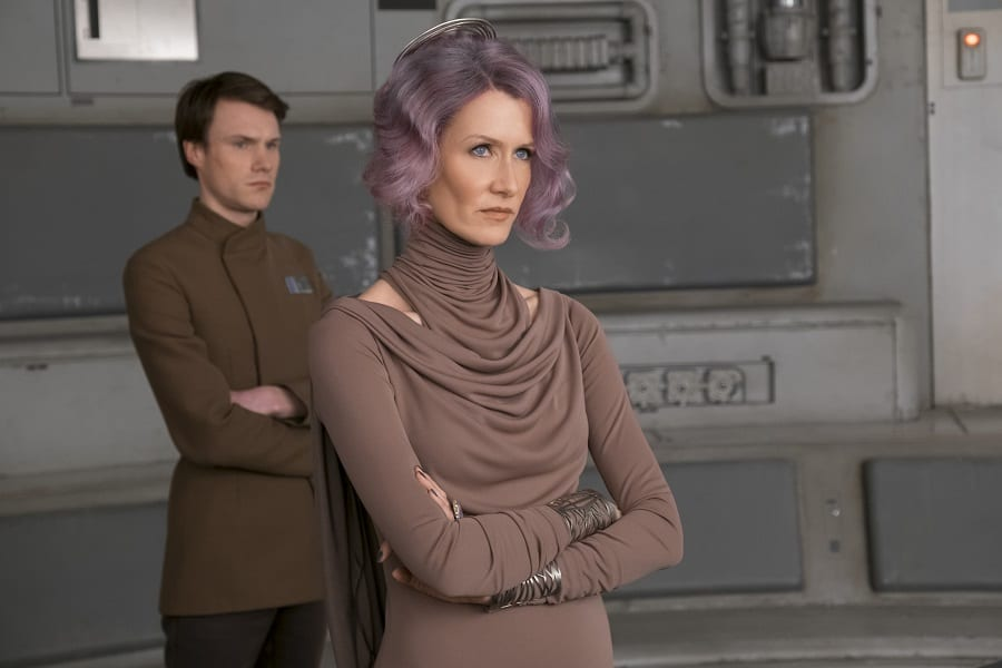 Laura Dern interview Holdo
