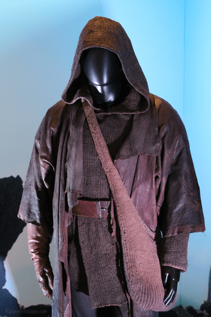 Luke costume the last jedi