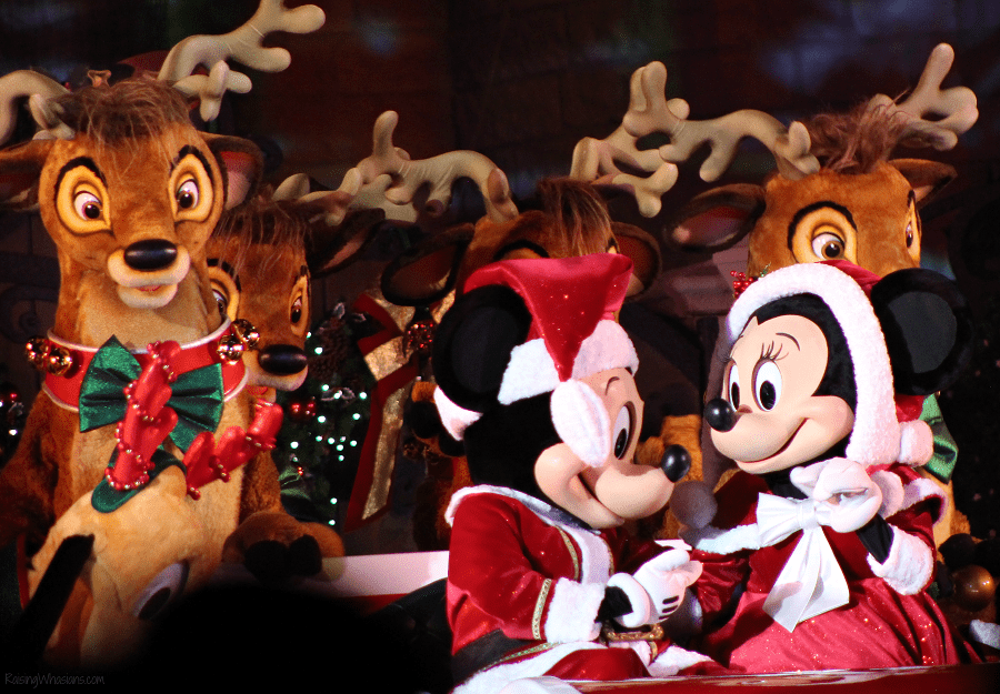 Mickeys most merriest celebration show