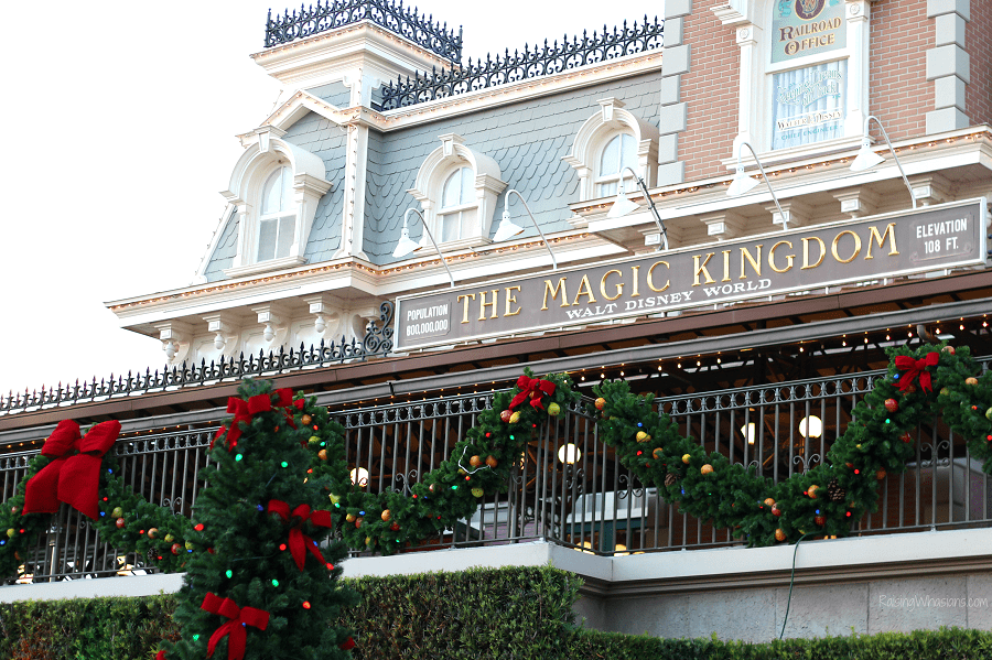 Mickeys very merry Christmas party vacation tips