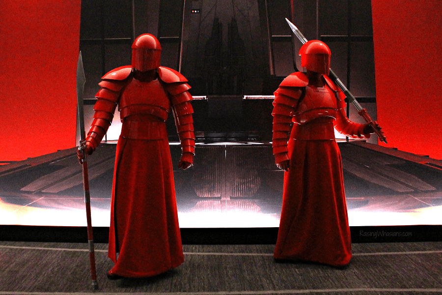 Praetorian guards photo opp