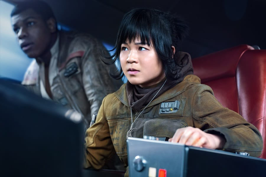 Rose Tico interview the last jedi