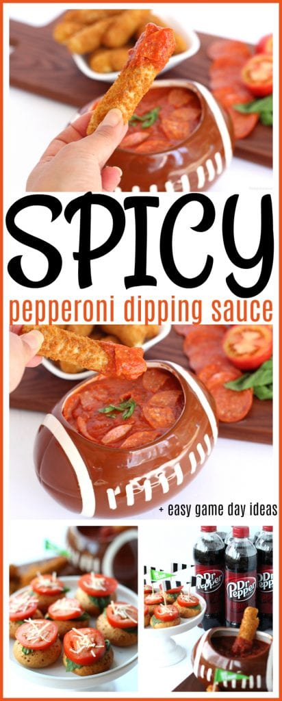 Spicy pepperoni sauce pinterest