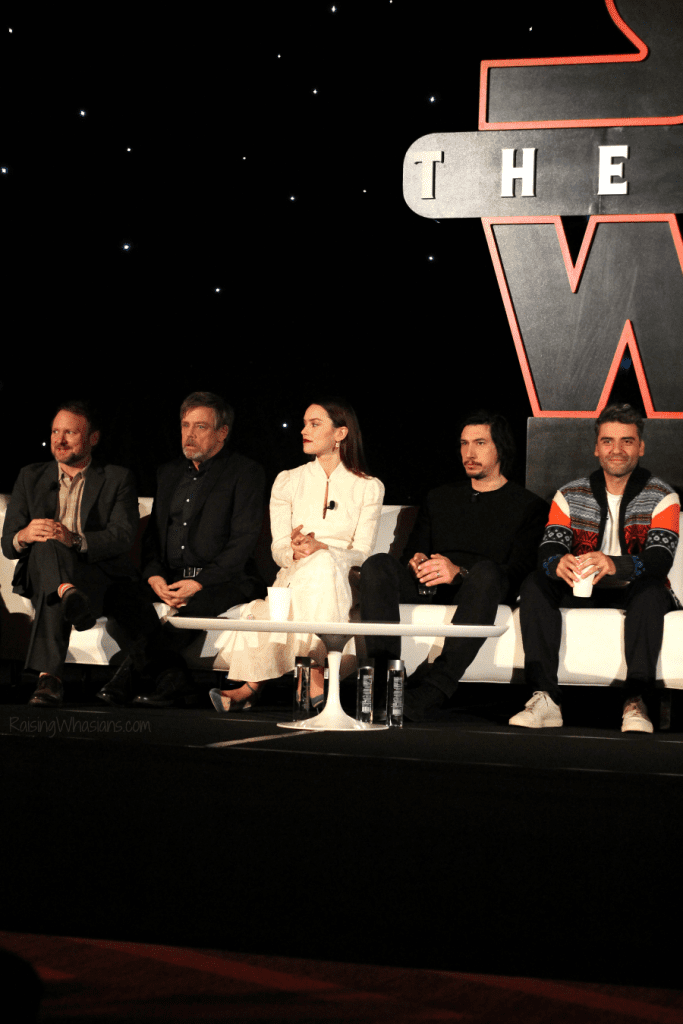 Star wars press conference 2017