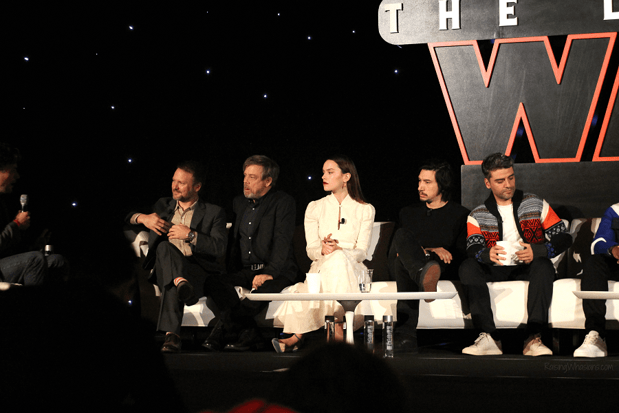 Star wars the last jedi press conference highlights