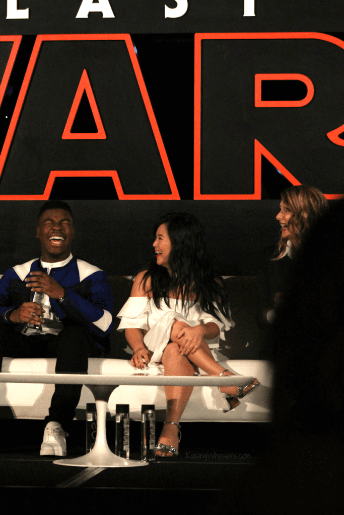 Star wars the last jedi press conference reveals