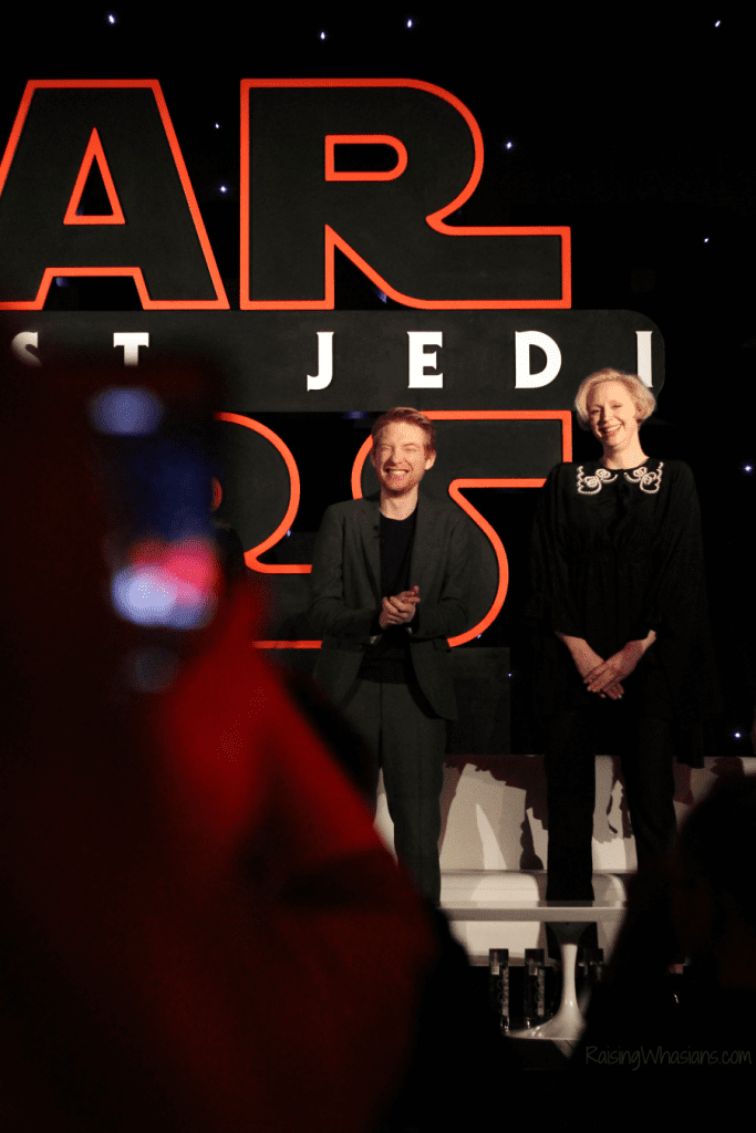 The last jedi press conference highlights