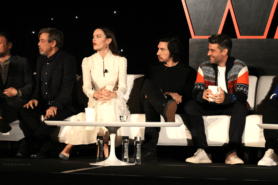 The last jedi press conference review
