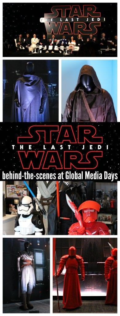 The last jedi press event behind the scenes