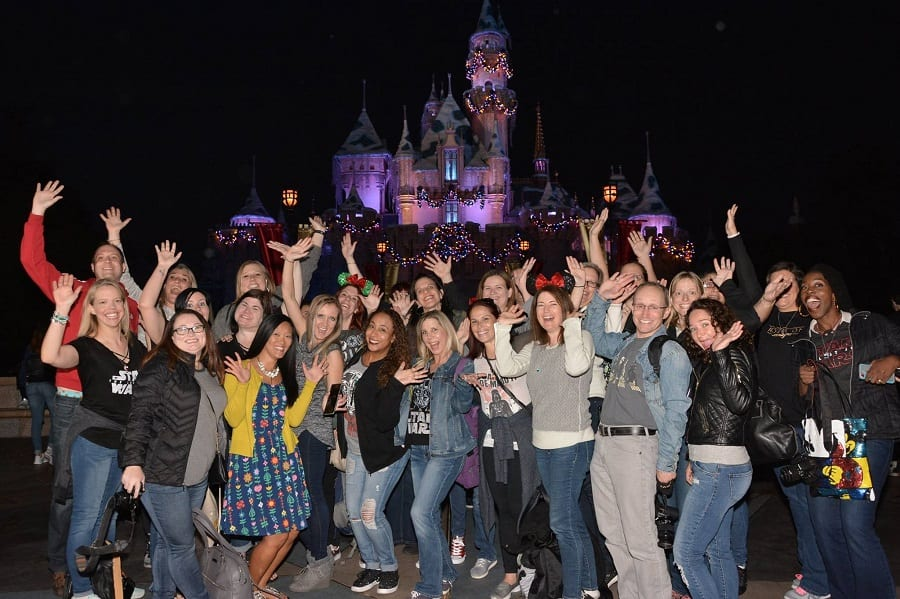 #TheLastJediEvent Disneyland