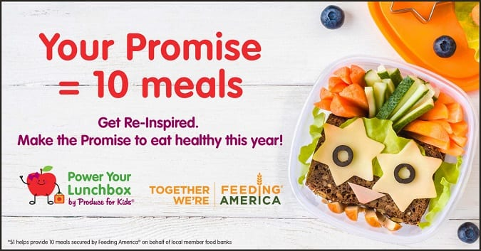 2018 power your lunchbox promise