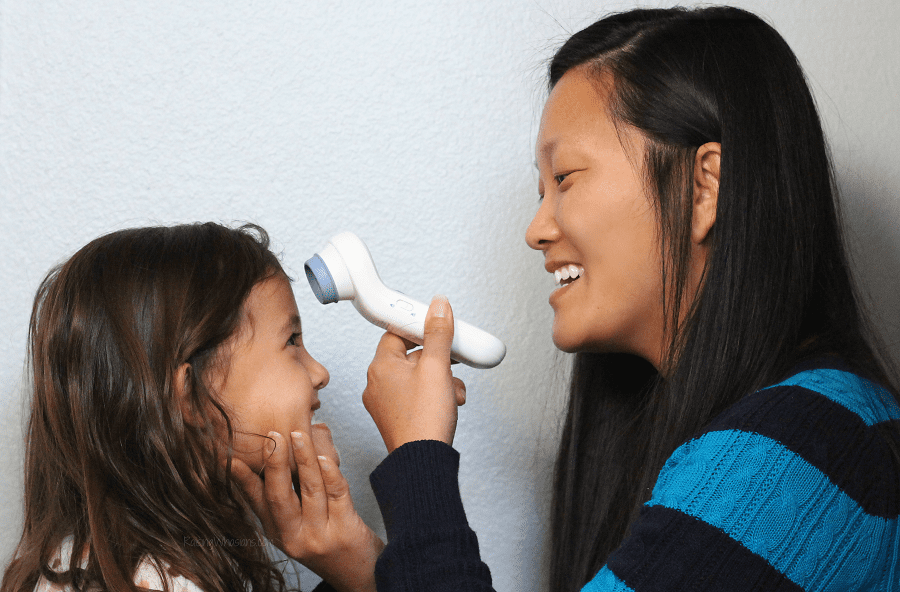 Braun no touch thermometer review