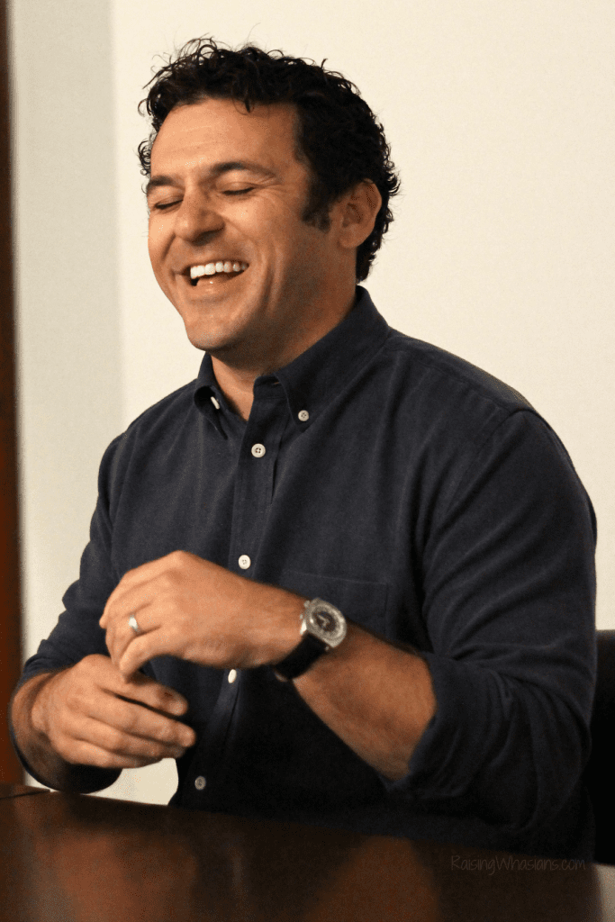 Child support interview Fred Savage