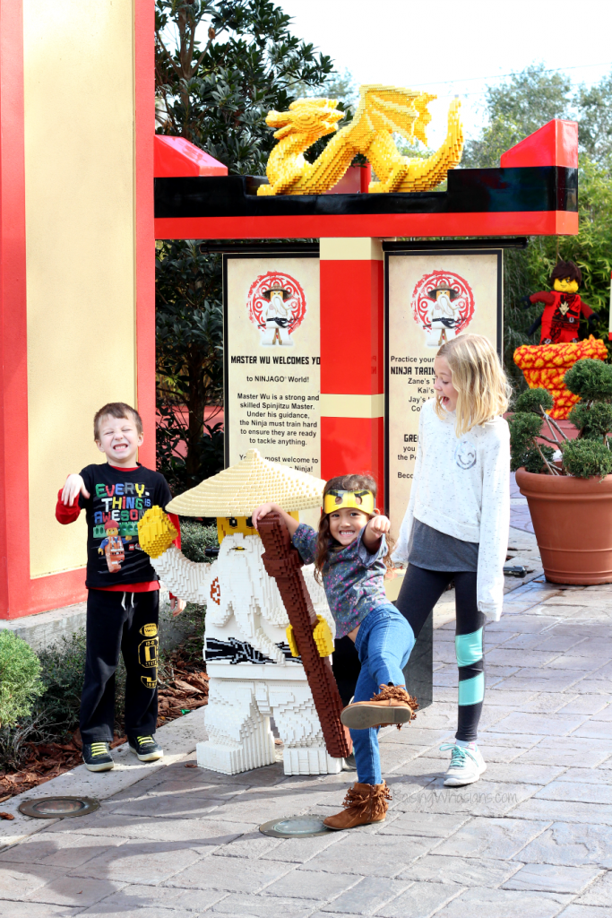 Lego Ninjago days at Legoland Florida family guide