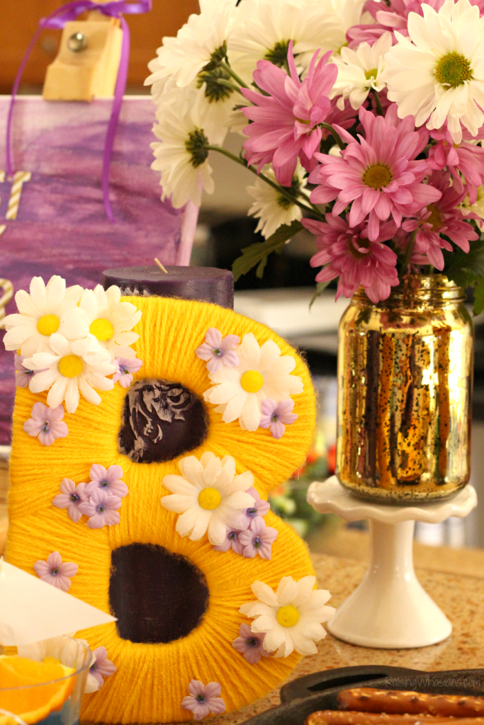 Rapunzel Tangled Birthday Party Ideas Food