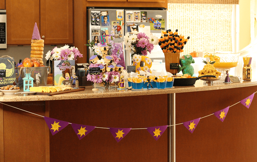 Rapunzel Tangled Party Birthday
