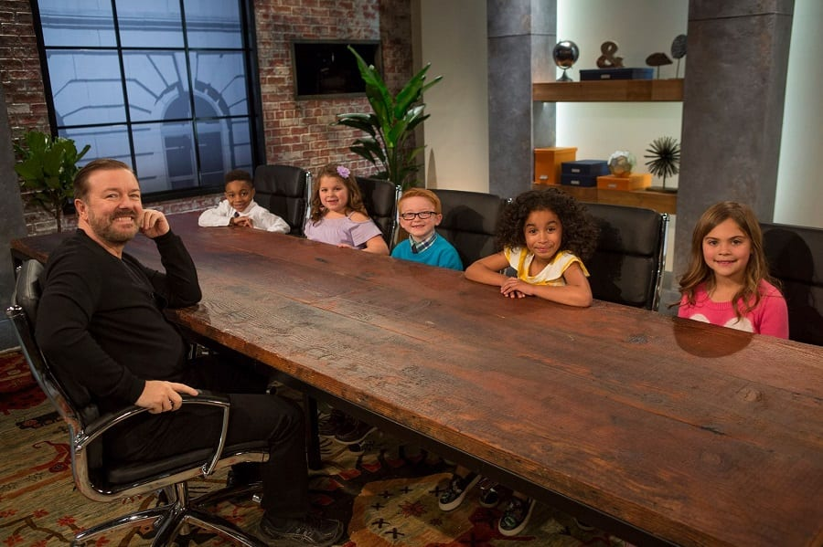 Ricky Gervais child support show