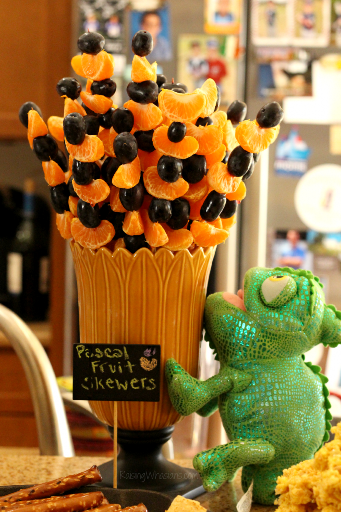 Tangled party food ideas