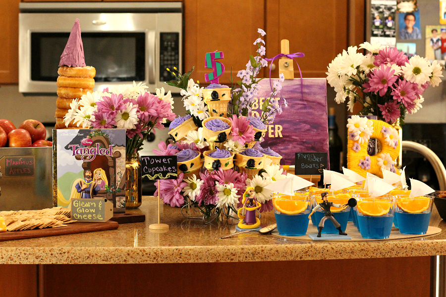 Tangled party ideas Tangled party ideas food - Tangled Party Ideas for My Rapunzel's 5th Birthday | Ultimate list of Disney Tangled party inspiration including food, decor, DIY, free printables, & more to make your princess' birthday the Best Day Ever! - #Disney #DisneyParty #PartyPlanning #Recipe #Decorations