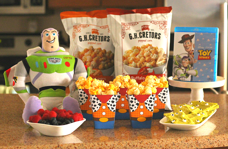 Easy toy story movie night ideas