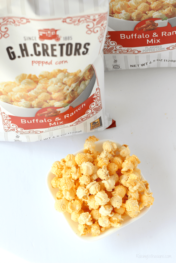 G.H. Cretors buffalo & ranch mix review
